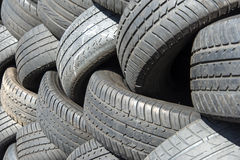 Tyres detail Royalty Free Stock Image