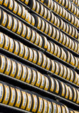 Tyres for sale in Korea Stock Images