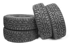 Tyres Stock Photography