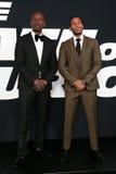 Tyrese Gibson broar för Christopher `-Ludacris ` Arkivfoton