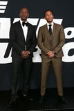 Tyrese Gibson, Christopher ` Ludacris ` mosty Zdjęcia Stock