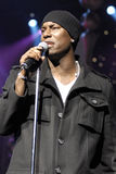 Tyrese performing live. Royalty Free Stock Photos