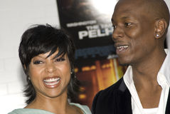 Tyrese and Taraji Royalty Free Stock Images