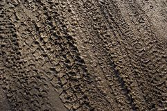 Tyretracks10 Fotografia de Stock