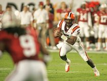 Tyrod Taylor in Action stock image