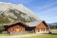 Tyrol, Ahornboden, Engalmen Royalty Free Stock Photography