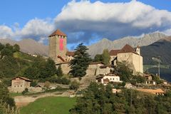 Tyrol Castle Royalty Free Stock Photos