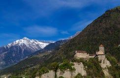 Tyrol castle. Near Meran, South Tyrol Royalty Free Stock Images