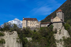 Tyrol castle. Near Meran, South Tyrol Stock Photography