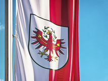 Tyrol flag Royalty Free Stock Photography