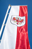 Tyrol flag Stock Photo