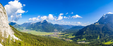Tyrol in summer. View of ehrwald tyrol in sommer Royalty Free Stock Images