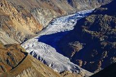 tyrolean冰川 免版税图库摄影