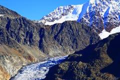 tyrolean冰川 免版税库存照片