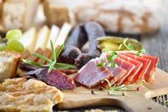 tyrolean南部的快餐 免版税库存图片