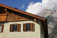 tyrolean дома типичное Стоковое Изображение RF