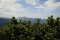 Tyrolean Alps. The Tyrolean Alps in summer Stock Photos