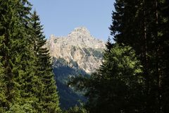 Tyrolean Alps Royalty Free Stock Photo