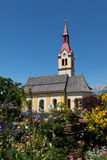 Tyrolean Church. A small church in the Tyrolean village of Igls Royalty Free Stock Photos
