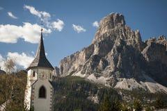 Tyrolean church steeple Stock Photography