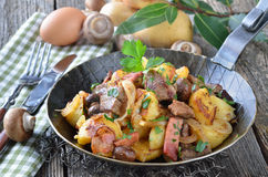 Tyrolean dish Royalty Free Stock Photos