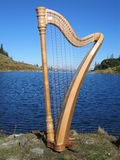Tyrolean Harp Royalty Free Stock Photo