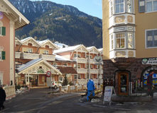 Tyrolean houses Stock Photography