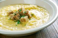 Tyrolean potato milk soup Royalty Free Stock Image