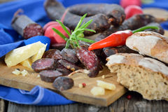Tyrolean snack Stock Photography