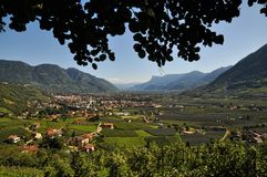 Tyrolean valley Stock Photography