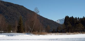 Tyrolien alps Stock Photography