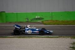 Tyrrell 001 1970年惯例1前杰基斯图尔特 免版税库存照片