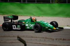 Tyrrell 011 1983年惯例1前米谢勒Alboreto 图库摄影