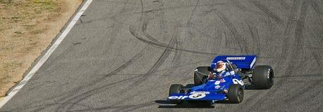 Tyrrell 001 che corre Fotografia Stock Libera da Diritti