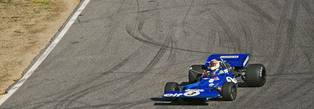 Tyrrell 001 racing Royalty Free Stock Photography