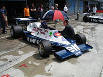 Tyrrell 008 Stockfotos