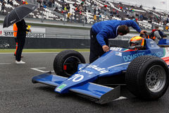 Tyrrell on the grid Royalty Free Stock Photos