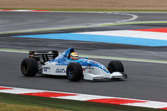Tyrrell-Yamaha F1 in exhibition Royalty Free Stock Photos