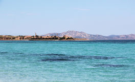 Tyrrhenian θάλασσα Στοκ φωτογραφία με δικαίωμα ελεύθερης χρήσης