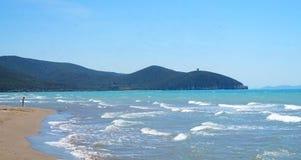 Tyrrhenian θάλασσα στοκ εικόνα με δικαίωμα ελεύθερης χρήσης