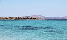 Tyrrhenian sea. Beautiful Tyrrhenian sea on Sardinia Royalty Free Stock Photography