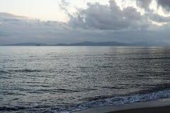 Tyrrhenian Sea, Tuscany, Italy Royalty Free Stock Photo