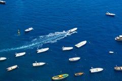 Tyrrhenian Sea waters Royalty Free Stock Photography