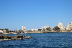 Tyrus City Lebanon 2017 Fotos de archivo libres de regalías