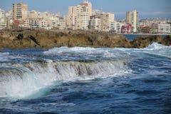 Tyrus City Lebanon 2017 stockfotos