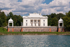 Tyshkevich Palace by the Lake Royalty Free Stock Photography