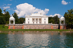 Tyshkevich Palace by the Lake Royalty Free Stock Photos