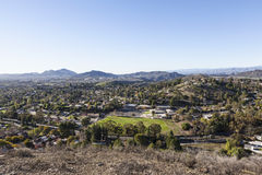 Tysiąc dębów w Ventura okręgu administracyjnym Kalifornia Obrazy Stock