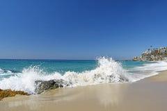 Tysiąc kroków Wyrzucać na brzeg, Laguna Obrazy Royalty Free