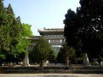 Tysiąc Buddha góry parków, Jinan miasto zdjęcia stock